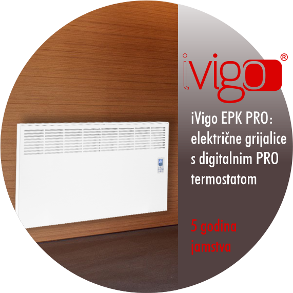 Električni radijatori Vigo za grijanje kupaonice